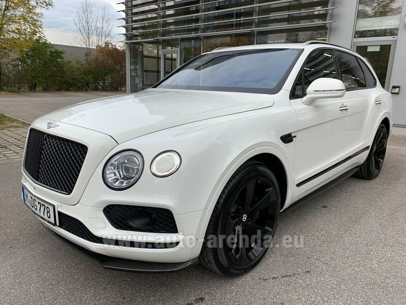 Купить Bentley Bentayga W12 в Люксембурге