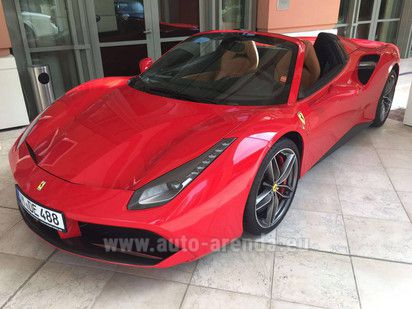 Buy Ferrari 488 Spider 2018 in Luxembourg, picture 1