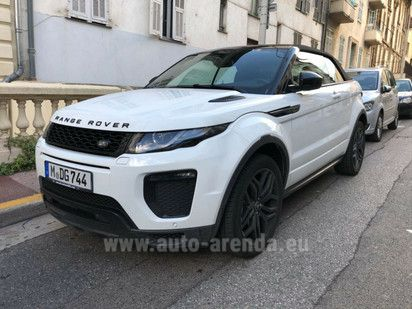 Buy Land Rover Range Rover Evoque Convertible 2017 in Luxembourg, picture 1
