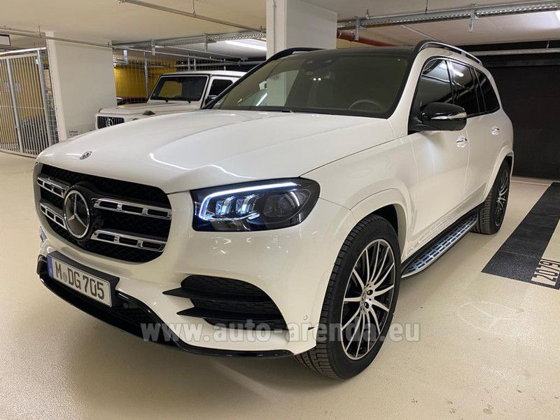 Купить Mercedes-Benz GLS 580 4MATIC в Люксембурге
