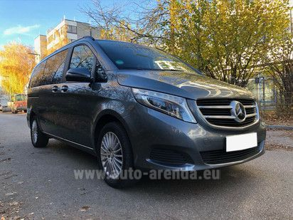 Купить Mercedes-Benz V-Class V 250 CDI Long в Люксембурге