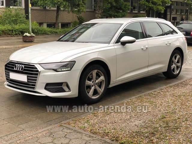 Rental Audi A6 40 TDI Quattro Estate in Luxembourg City