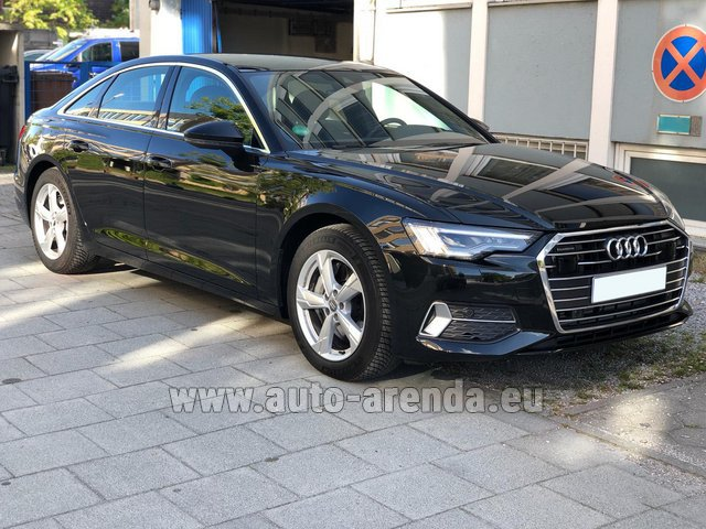 Rental Audi A6 45 TDI Quattro in Luxembourg City