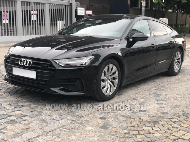 Rental Audi A7 50 TDI Quattro Equipment S-Line in Luxembourg City