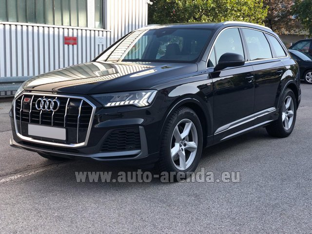 Прокат Ауди Q7 50 TDI Quattro Equipment S-Line (5 мест) в Люксембурге