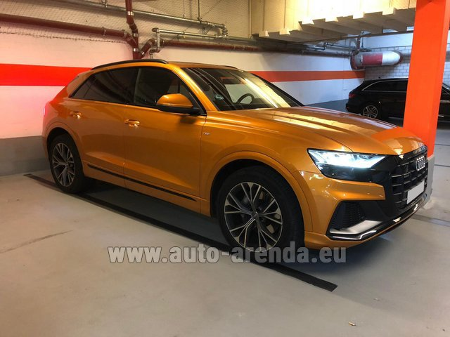 Rental Audi Q8 50 TDI Quattro in Wiltz
