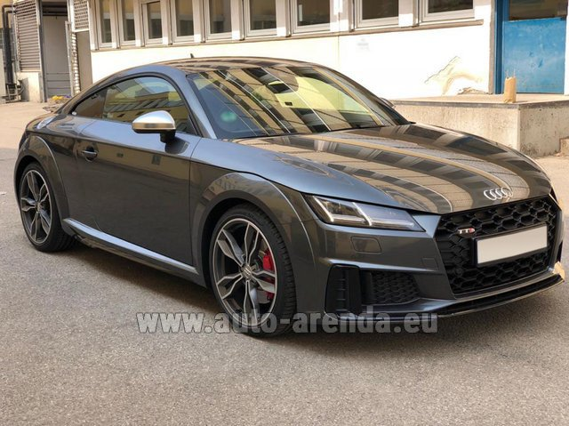 Rental Audi TTS Coupe in Luxembourg City