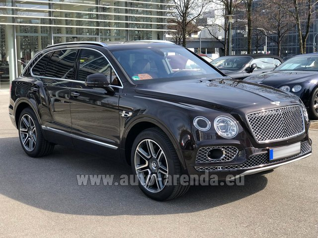 Rental Bentley Bentayga 6.0 Black in Echternach