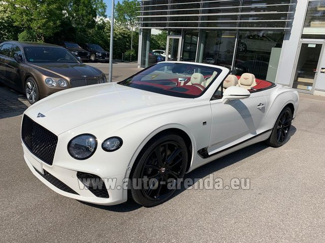 Rental Bentley GTC W12 First Edition in Luxembourg City
