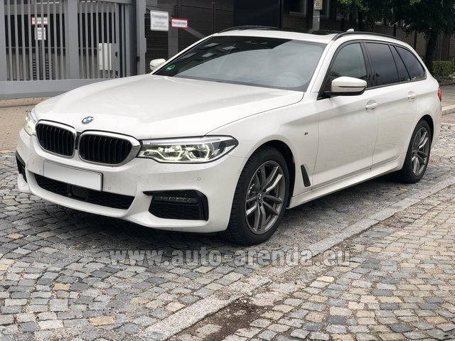 Rental BMW 520d xDrive Touring M equipment in Luxembourg City
