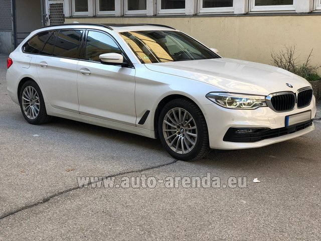 Rental BMW 5 Touring Equipment M Sportpaket in Luxembourg City