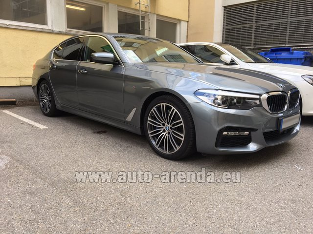 Rental BMW 540i M in Luxembourg City