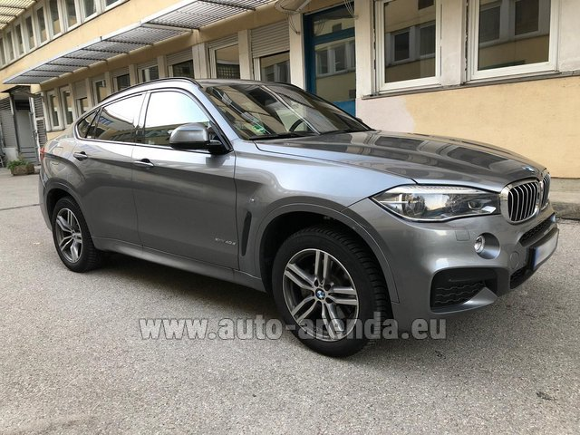 Rental BMW X6 4.0d xDrive High Executive M in Differdange