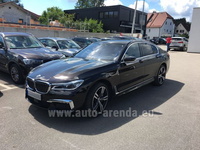 Rental BMW 750i XDrive M equipment in Luxembourg City