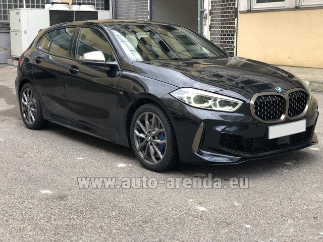 Rental BMW M135i XDrive in Luxembourg City