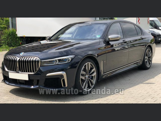 Rental BMW M760Li xDrive V12 in Differdange