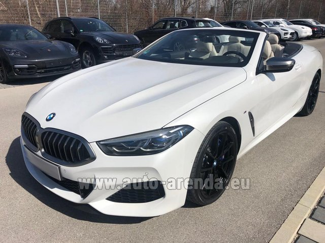 Rental BMW M850i xDrive Cabrio in Differdange