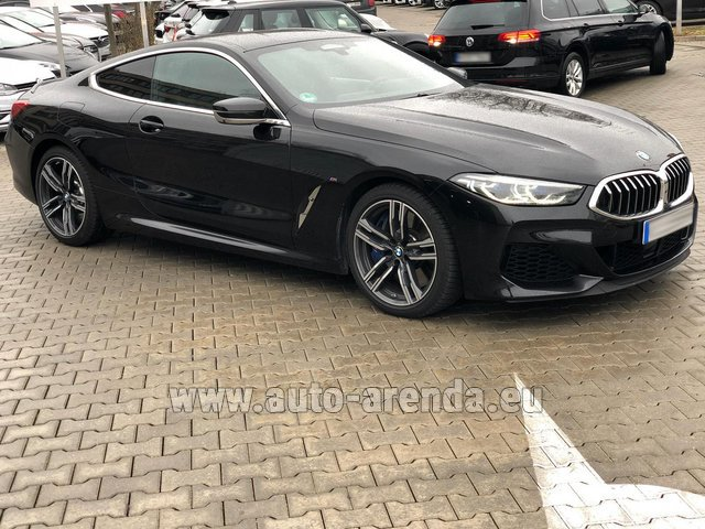Rental BMW M850i xDrive Coupe in Differdange