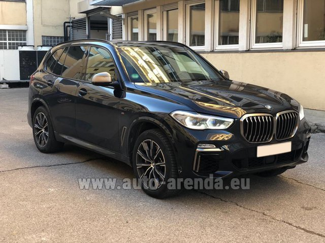 Rental BMW X5 M50d XDRIVE in Luxembourg