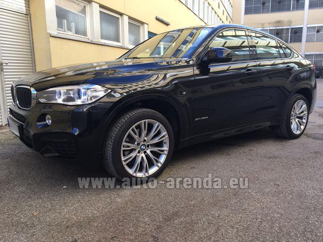 Прокат БМВ X6 3.0d xDrive High Executive M спорт пакет в Городе Люксембурге