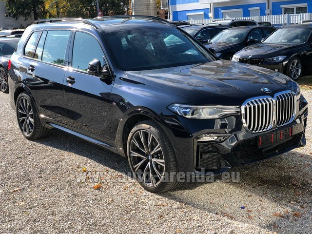 Rental BMW X7 xDrive40i in Differdange