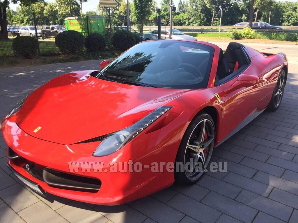 Photos Of Ferrari 458 Italia Spider Cabrio: