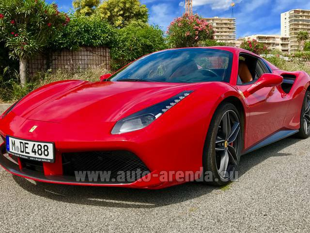 Rental Ferrari 488 in Esch-sur-Alzette