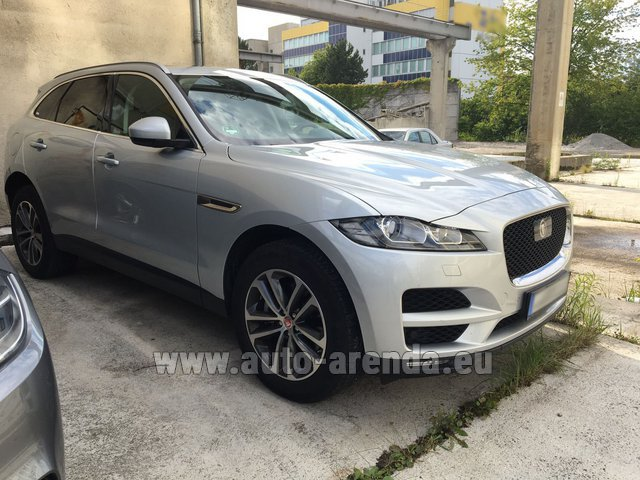 Rental Jaguar F-Pace in Luxembourg City