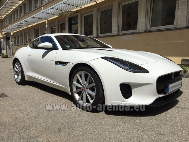 Rental Jaguar F-Type 3.0 Coupe in Luxembourg