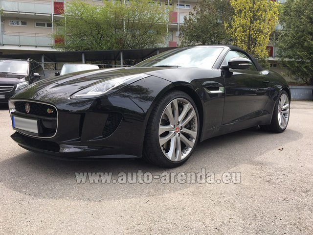 Rental Jaguar F Type 3.0L in Esch-sur-Alzette