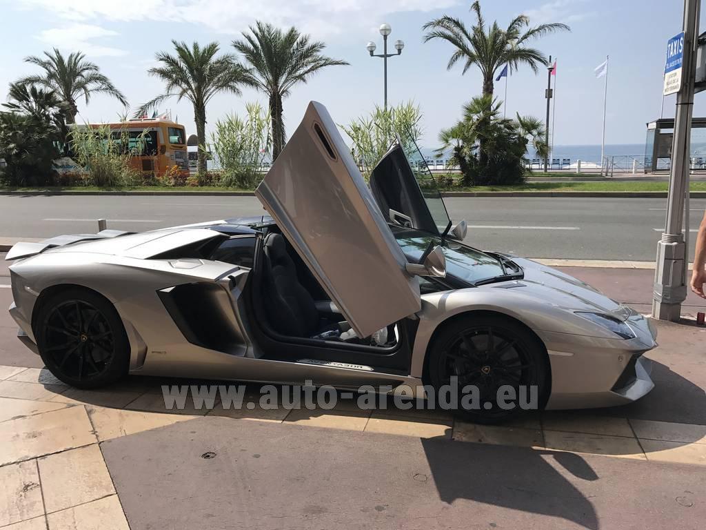 Rental Price In Luxembourg For The Car Lamborghini Aventador LP 700 4