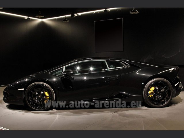 Rental Lamborghini Huracan LP580-2 Lifting System Giano 20 in Differdange