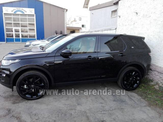 Rental Land Rover Discovery Sport HSE Luxury (5-7 Seats) in Rumelange
