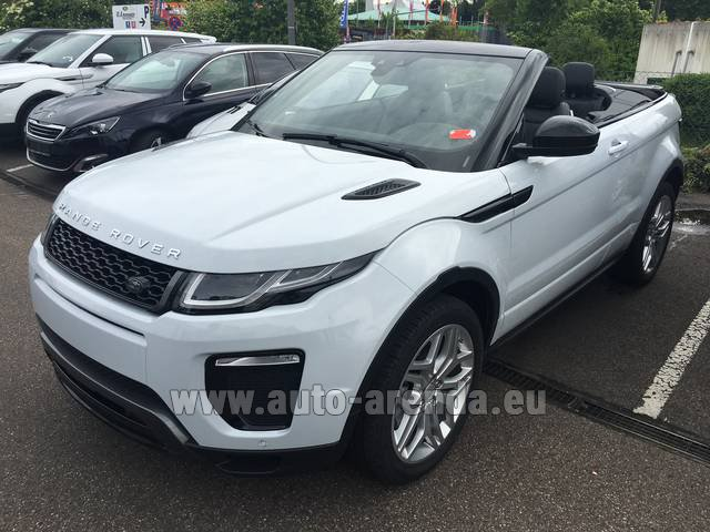 Rental Land Rover Range Rover Evoque HSE Cabrio SD4 Aut. Dynamic in Diekirch