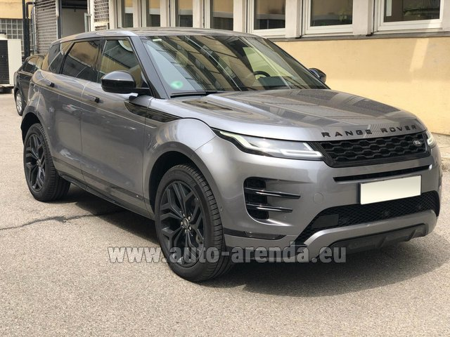 Rental Land Rover Range Rover Evoque D180SE in Diekirch