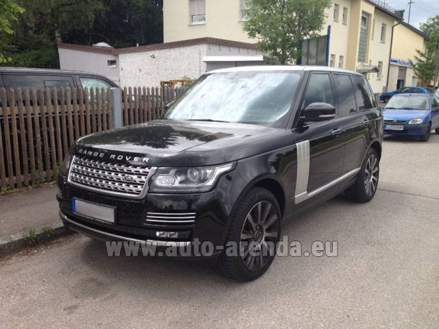 Rental Land Rover Range Rover SDV8 Autobiography in Diekirch