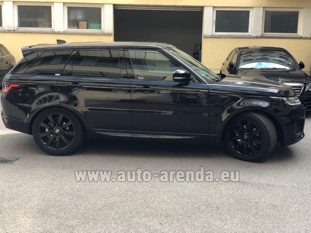Rental Land Rover Range Rover Sport in Diekirch