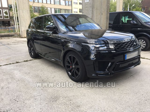 Rental Land Rover Range Rover SPORT in Differdange