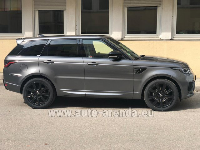 Rental Land Rover Range Rover Sport SDV6 Panorama 22 in Diekirch