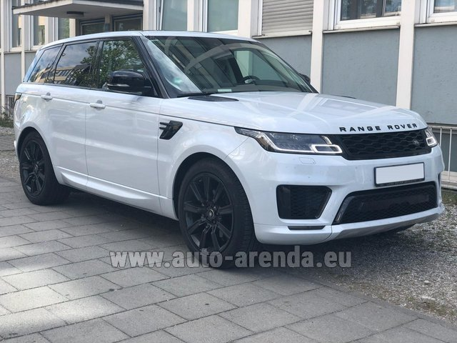 Rental Land Rover Range Rover Sport White in Diekirch