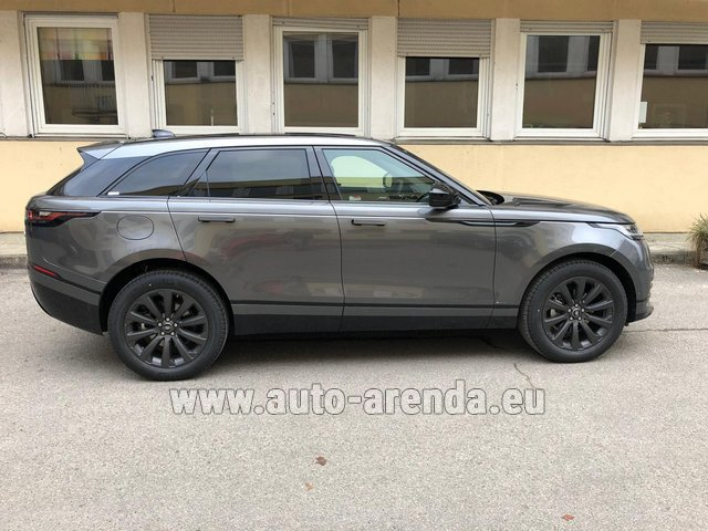 Rental Land Rover Range Rover Velar P250 SE in Diekirch