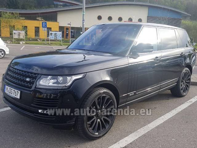 Rental Land Rover Range Super Charge 5.0L Long in Rumelange