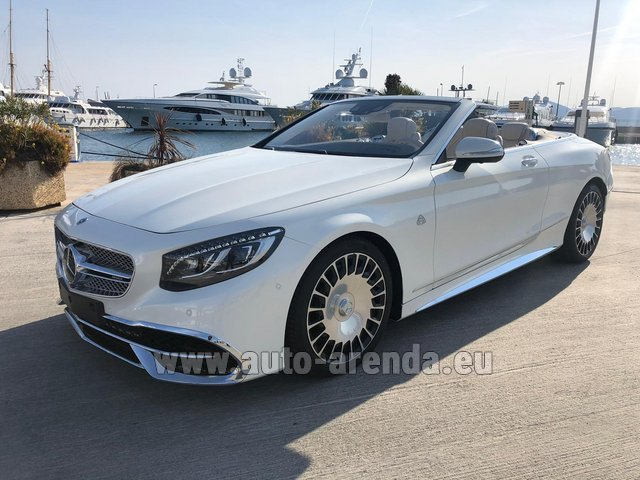 Прокат Maybach S 650 Cabriolet, 1 of 300 Limited Edition в Люксембурге