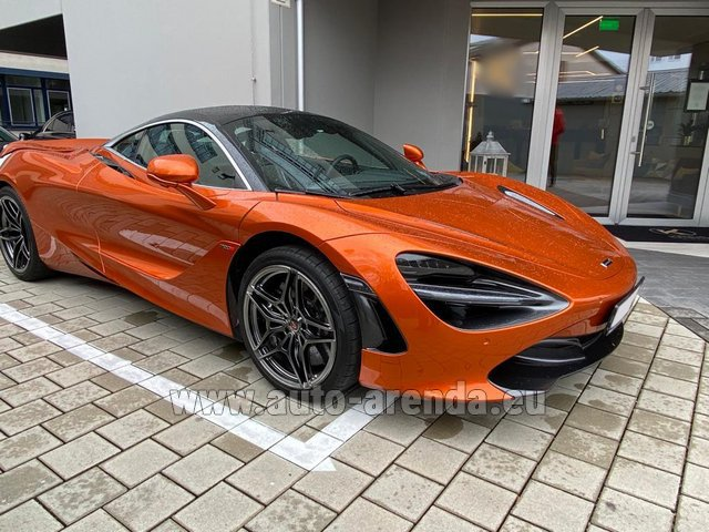 Rental McLaren 720S in Diekirch