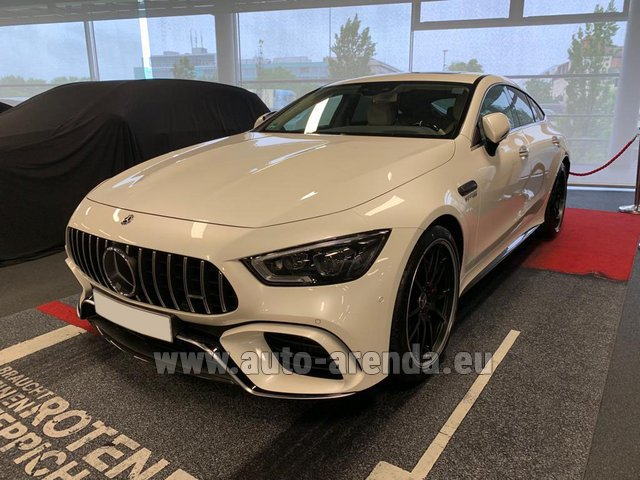 Rental Mercedes-Benz AMG GT 63 S 4-Door Coupe 4Matic+ in Luxembourg City