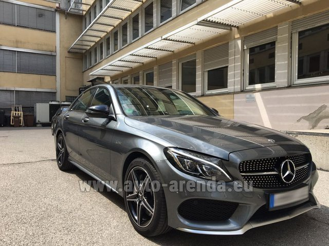 Rental Mercedes-Benz C-Class C43 AMG BITURBO 4Matic in Luxembourg City