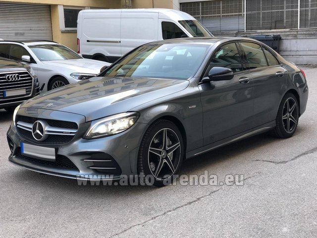 Rental Mercedes-Benz C-Class C43 BITURBO 4Matic AMG in Luxembourg