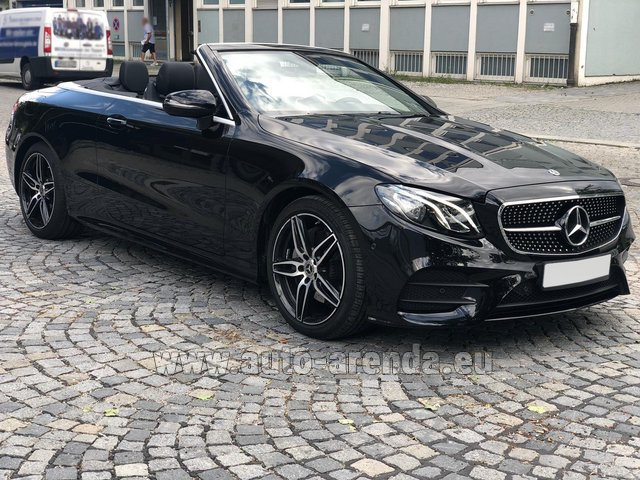 Rental Mercedes-Benz E-Class E200 Cabrio AMG equipment in Diekirch
