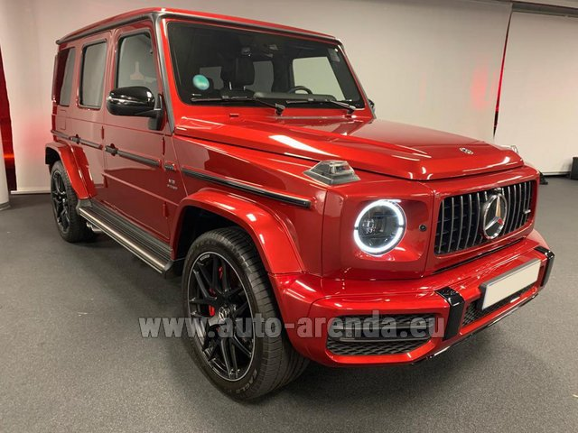 Rental Mercedes-Benz G 63 AMG biturbo in Luxembourg