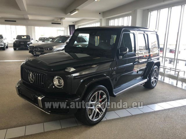 Rental Mercedes-Benz G63 AMG V8 biturbo in Luxembourg